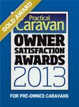 Practical Caravan Gold Award