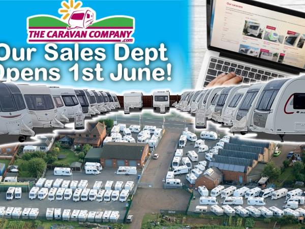 COVID 19 Update - Sales Departments Re-open 1st June!